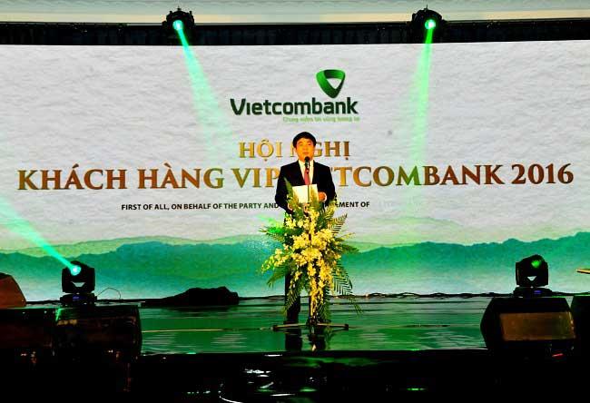Hội nghị khách hàng ngân hàng vietcombank